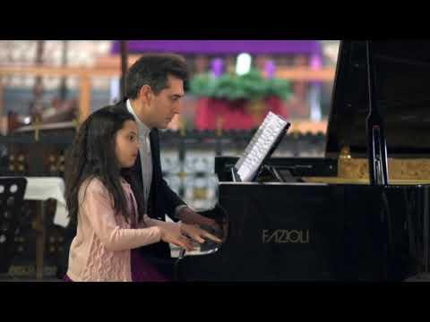 Claude Debussy: Le Petite Suite, En Bateaux - Yevgeny Sudbin and Bella Sudbin