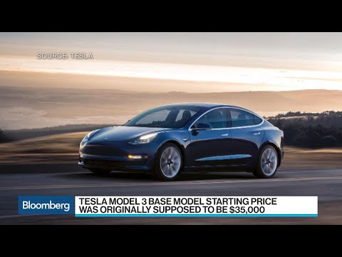 Enhanced Tesla Model 3 Costs $78,000