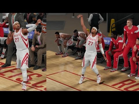 NBA 2K16 PS4 My Career - Splash Celebration!