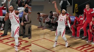 NBA 2K16 PS4 My Career - Splash Celebration!