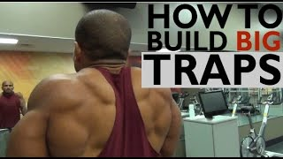 Video HOW TO BUILD BIG TRAPS: 3 MUST DO EXERCISES download MP3, 3GP, MP4, WEBM, AVI, FLV Juni 2018