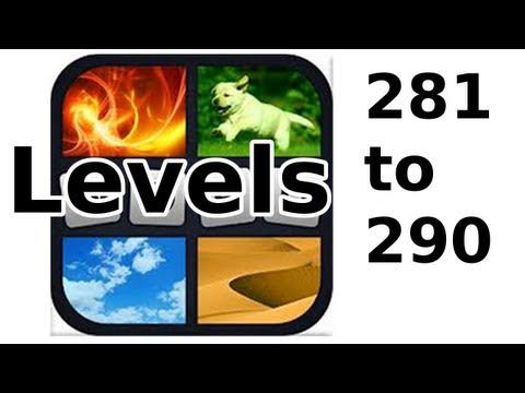 4 Pics 1 Word - Level 281 to 290 - Walkthrough