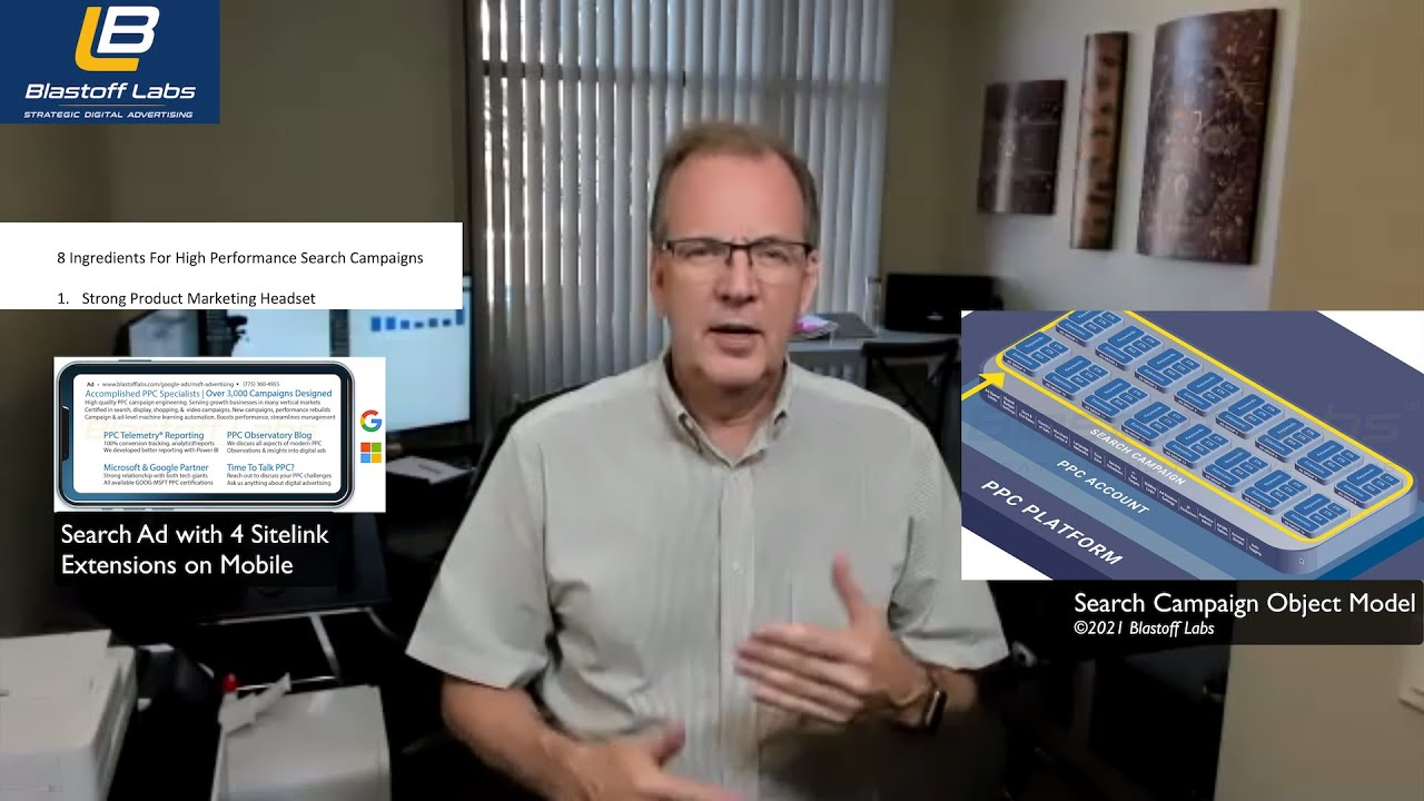 8 Ingredients For High Performance Search Campaigns - YouTube