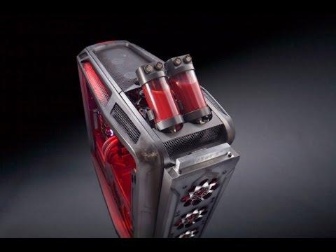 Rebel a case mod part 5 final cooler master cosmos ii for Case modello artigiano