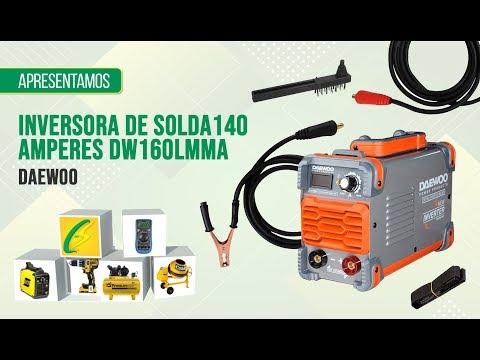 Review Inversora de Solda 140 Amperes DW160LMMA Daewoo