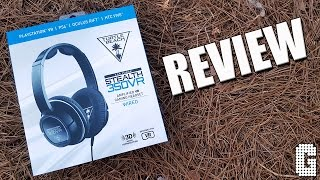 Wow Turtle Beach 350VR Headset REVIEW