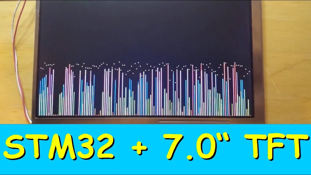 STM32F429 + 7 0