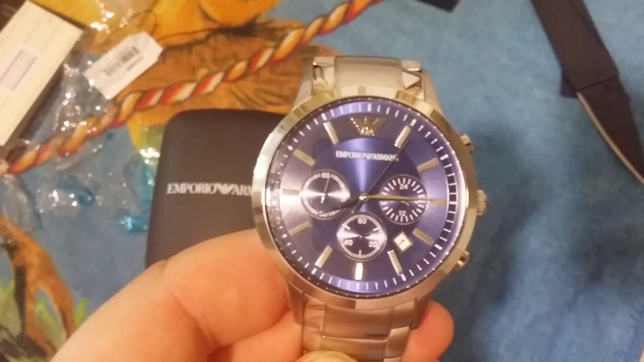 Посылка из Китая AliExpress.Com | Часы мужские ARMANI rus видео .