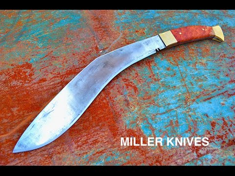Knife Making - Forging a Kukri