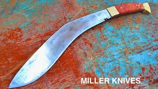 Knife Making - Forging a Kukri