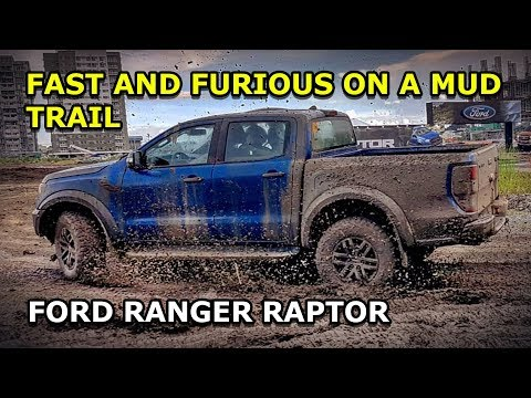 Ford Ranger Raptor off-road test drive POV view (Philippines)