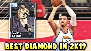 NBA 2K19 DIAMOND SKILLS CHALLENGE JAYSON TATUM IS INSANE *HOF LIMITLESS* |  BEST DIAMOND IN MyTEAM