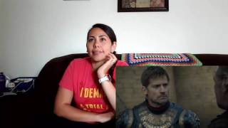 Game of Thrones Season 6 Episode 7 Cynthia's Reaction The Broken Man  Spoilers s06e07 s06x07