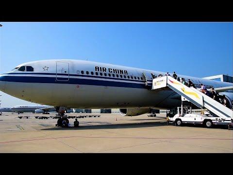 Air China Business Class A330 Beijing to Tokyo Narita