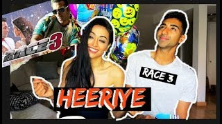 Heeriye Song REACTION | Race 3 | Salman Khan, Jacqueline | Meet Bros ft. Deep Money, Neha Bhasin