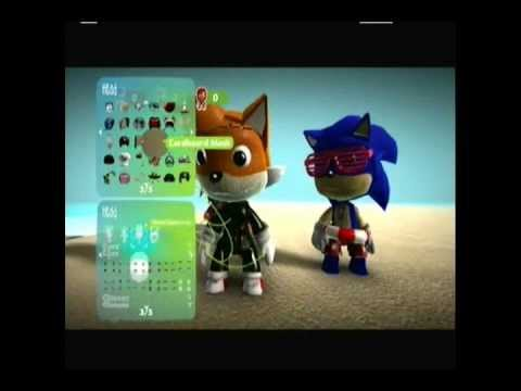 Sonic's Adventures in Little Big Planet Episode 11- Puppy Beach Party