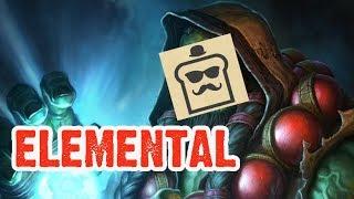 [Disguised Toast] Elemental Shaman - Hearthstone Standard Deck!