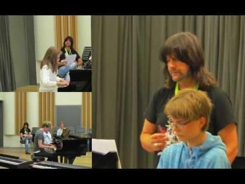 KING OF PIANO SUMMER CAMP 2012