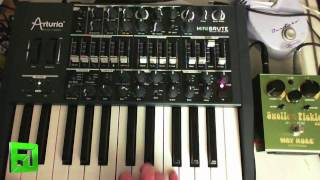 Arturia MiniBrute Tricks and Tips by Fluxwithit.com