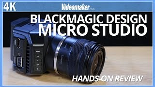 Blackmagic Design - Micro Studio Camera - Hands-on Review