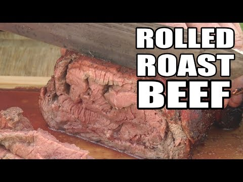 Slice and Roll Roast Beef by the BBQ Pit Boys