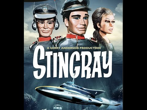 Jerry /& Silvia Anderson Troy STINGRAY TV show WASP 1964-1965 show