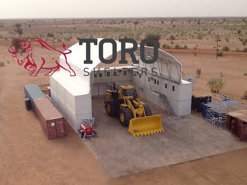 Toro Shelters - Tensioned Fabric Buildings