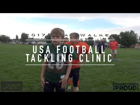 2017 Moffat County Doak Walker Tackling Clinic