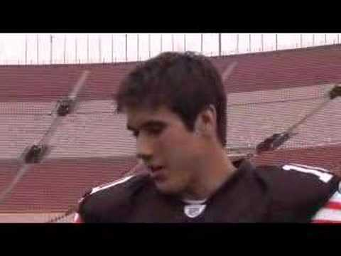 Topps 2007 NFL Rookie Photo Shoot with Brady Quinn