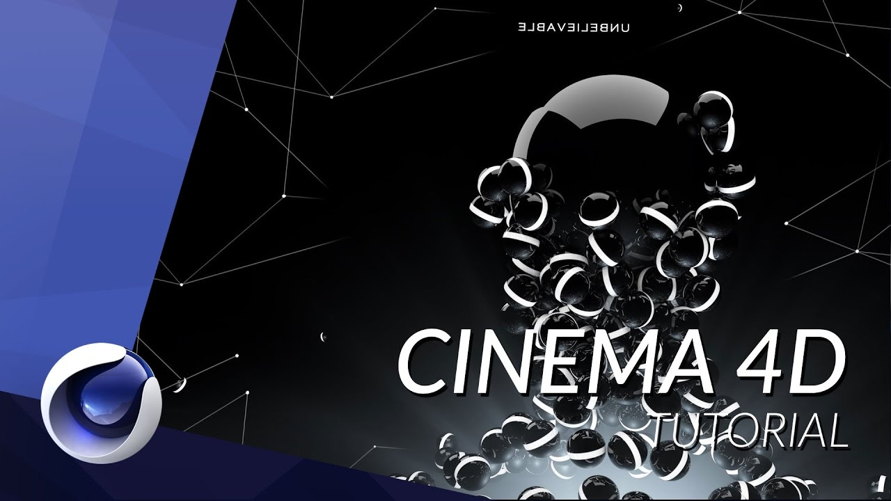 how to create an abstract wallpaper in cinema 4d - tutorial - youtube