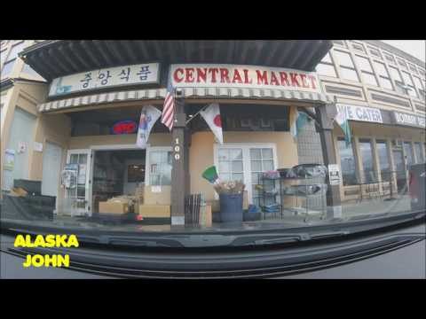 DRIVING ANCHORAGE ALASKA - Day Off Errands - July 29th 2016