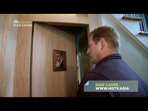 Secret Door Entry Quick Tips | Man Caves | HGTV Asia