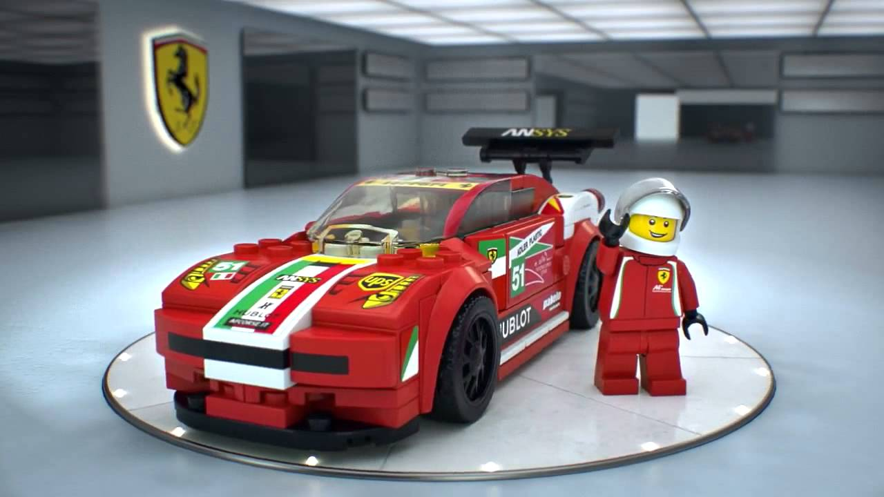 lego speed champions 75908 ferrari 458 italia gt2 youtube. Black Bedroom Furniture Sets. Home Design Ideas
