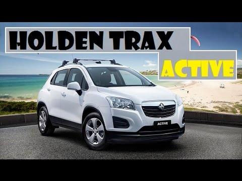 Holden Trax Active, come to Australia later in May this year