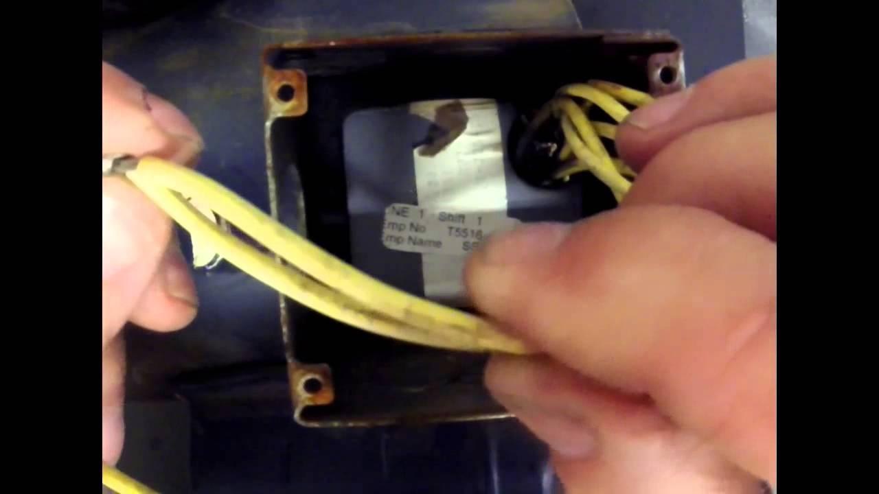 Electric Motor Wiring