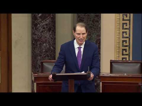 Wyden Floor Speech Ahead of Vote to Confirm Dan Brouillette as Energy Secretary