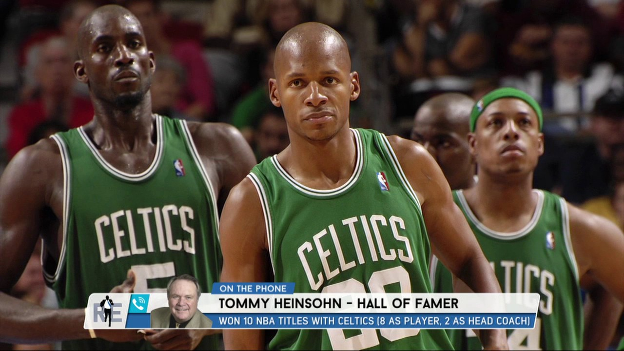 Celtics Hall of Famer Tommy Heinsohn Weighs in on the Ray Allen