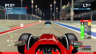 f1 2014 career mode part 3 bahrain grand prix legend ai