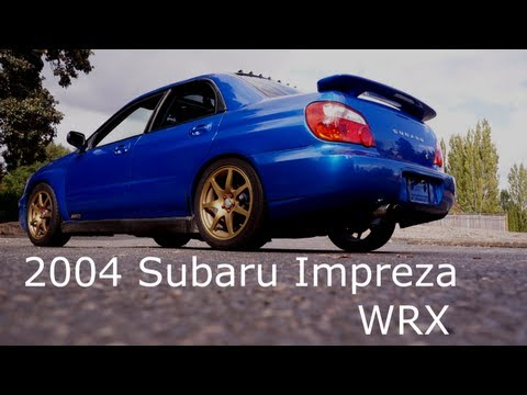 2004 Subaru Impreza WRX Rally Blue Gold Rims - Walk Around In And Out