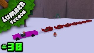 Lumber Tycoon Ep. 38: LONGEST SLED SNAKE EVER! | Roblox