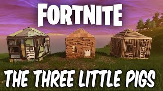 Fortnite season 6 map changes. THE THREE LITTLE PIGS HOUSES - PIG SKINS????