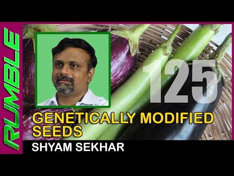Genetically modified seeds are opposed by activists, not farmers - Shyam Sekhar