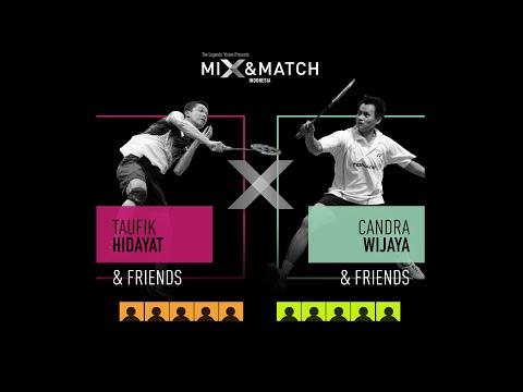 MIX & MATCH INDONESIA Team Drafting with Taufik Hidayat and Candra Wijaya