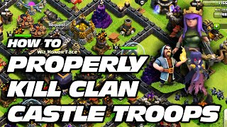 Clash of Clans: How to Lure & Easily Kill Clan Castle Troops