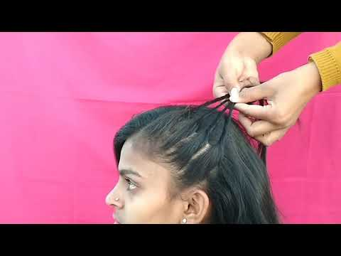 Beautiful Everyday Easy Hairstyles // Collage Girls Hairstyles // Party Hairstyles // thumbnail