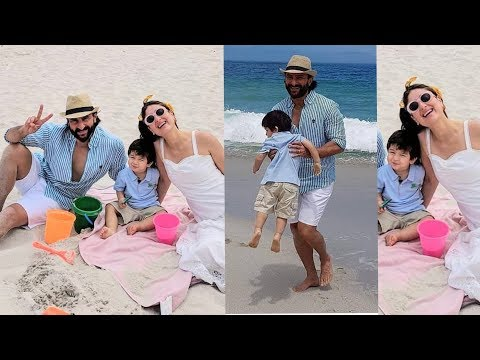 Taimur Ali Khan celebrates his 2nd birthday on beach with parents Kareena Kapoor and Saif Ali Khan