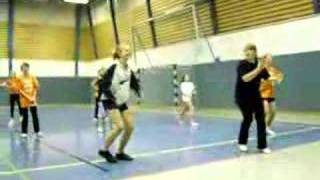 cheerleading training