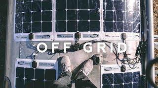 Off-Grid Airstream - 500 WATT Solar Install