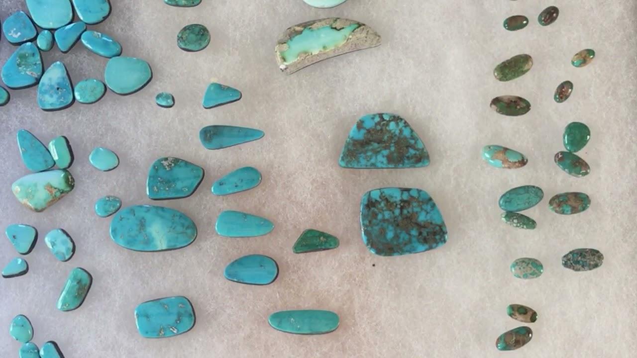 Famous Turquoise Mines. Blue Gem.