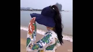 여성 여름 돌돌이 썬캡 바캉스 비치 여행 햇빛 자외선 …
